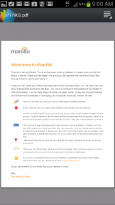 Manilla PDF Documents