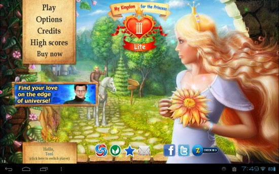 My Kingdom for the Princess 3 – game quest to build a fairy tale kingdom