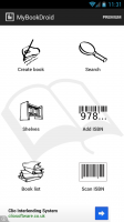 MyBookDroid - Dashboard