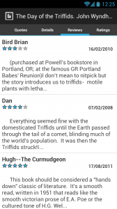MyBookDroid - Reviews