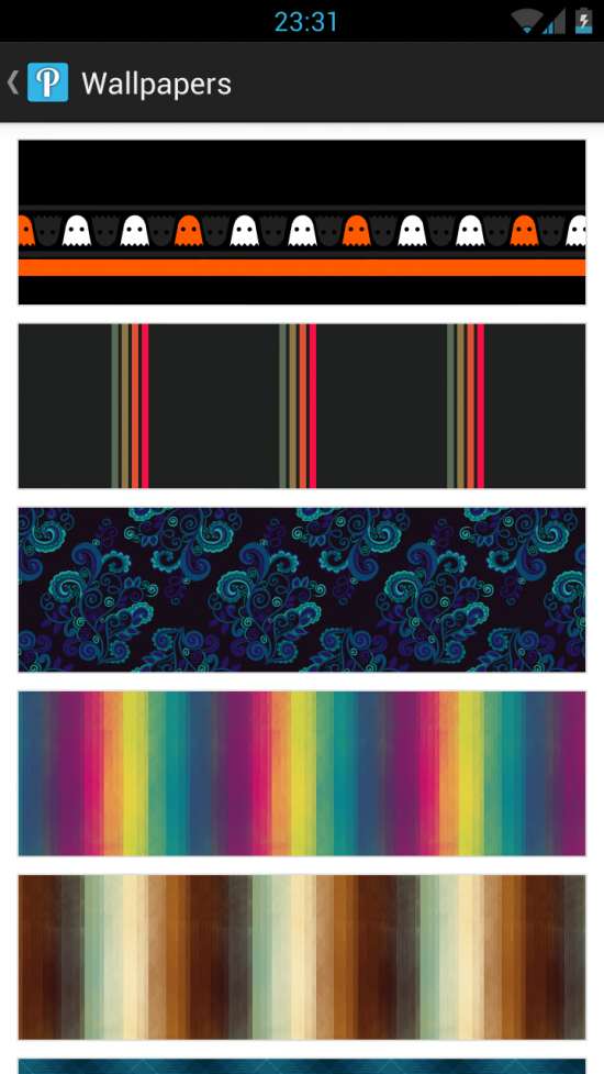 Pattrn – download & set some cool pattern backgrounds for your Android!