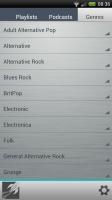 Rocket Music Player - Genres