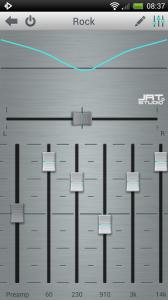 Rocket Music Player - Handy presets
