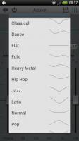 Rocket Music Player - Various equaliser presets