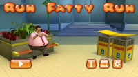 Run Fatty Run - Main Menu