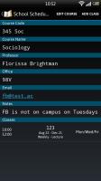 School Scheduler - Course details