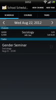 School Scheduler - Daily schedule