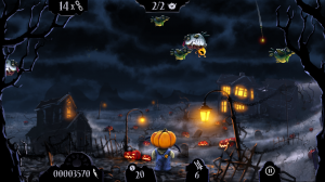 Shoot the Zombirds - Catch them before they kidnap and Pumpkid