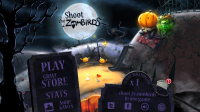 Shoot the Zombirds - Menu