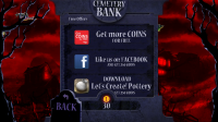 Shoot the Zombirds - Posting ads to your social network friends will help you earn coins