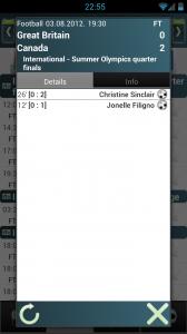 SofaScore - Match score