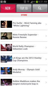 SportOn Video Ringtones New Videos