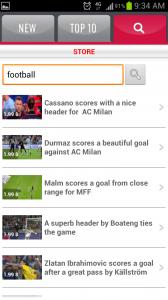 SportOn Video Ringtones Search Videos