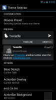 Tweedle - Theme selector