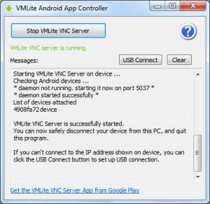 VMLite VNC Server Android App Controller
