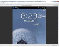VMLite VNC Server Web App Phone Home Screen