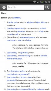 Wiktionary - Extended definitions