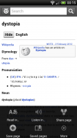 Wiktionary - With menu