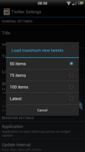 Wizz Widget - Max tweets limit