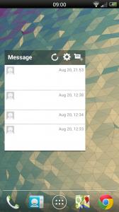 Wizz Widget - Messages