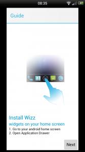 Wizz Widget - Tutorial 1
