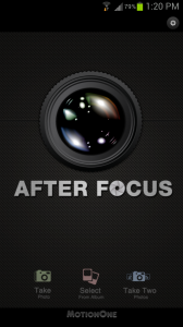 AfterFocus Main