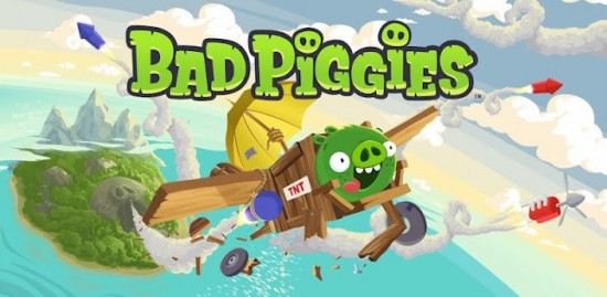 Pigs Can Fly! New Game from the Creators of Angry Birds releases Bad Piggies