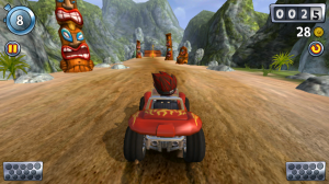 Beach Buggy Blitz - Gorgeous 3D scenery