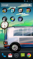 Bus Stop Live Wallpaper - Buses come...