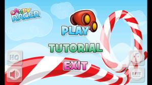 Candy Racer Start Screen
