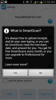 Expensify SmartScan