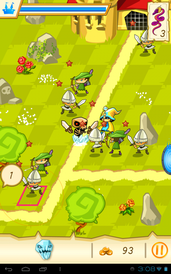 Fantasy Kingdom Defense HD – epic sword & sorcery fantasy Tower Defense game