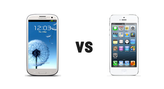Galaxy S3 vs iPhone 5, who will be the winner?!?