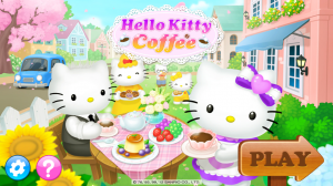 Hello Kitty Coffee Start Screen