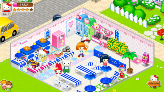 Hello Kitty Coffee – manage a busy dessert café in this cute yet challenging game!