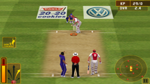 IPL Cricket Fever - Batting controls