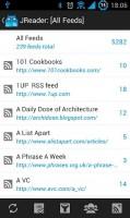 JReader Google Reader and RSS All Feeds