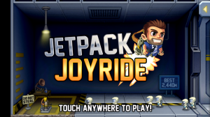 Jetpack Joyride - Front screen