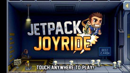 Jetpack Joyride. The action-packed fly until your crash platformer game