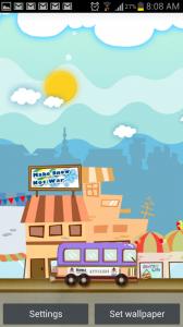 My Little Town Live Wallpaper 2
