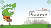Phooter 2 - Start screen