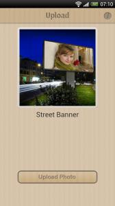 Photomica - Street banner effect