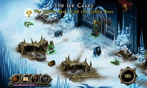 Puzzle Quest Ice Map