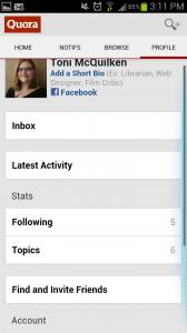 Quora Profile