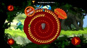 Rayman Jungle Run - End of level score