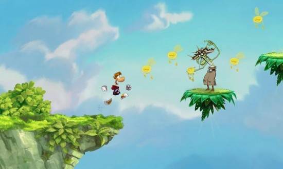 Rayman Jungle Run run & jump game now available to play from makers of Rayman Origins