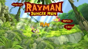 Rayman Jungle Run - Menu
