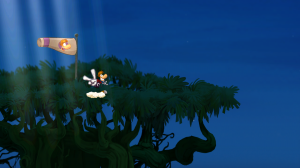 Rayman Jungle Run - Reach the windsock to complete the level