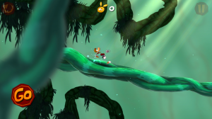 Rayman Jungle Run - Start