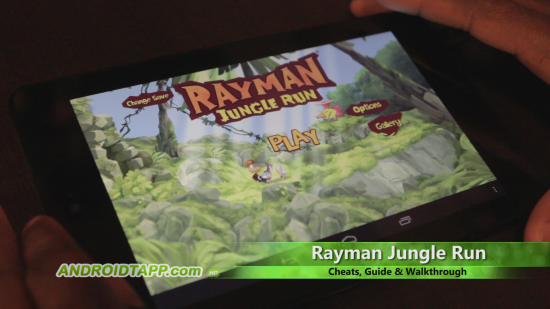 Rayman Jungle Run Video Review (Help, Cheats, Guide & Walkthrough)
